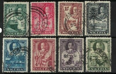 Nigeria stamps 1935> GEORGE V - local motifs good used / better cancels