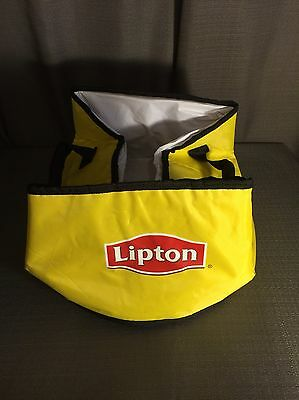 Lipton Tea Soft Side Cooler Collapsible Drink Tote