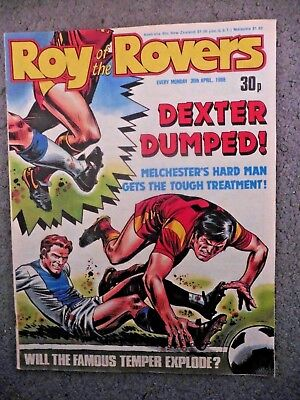 Roy Of The Rovers Comic 30/4/1988 Vintage Rare Vgc