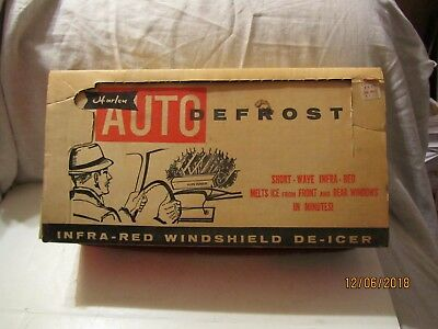 New Harlen Auto Window Defroster w/Box & Instruction Sheet Made by Osrow USA