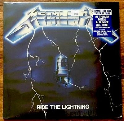 Metallica - Ride The Lightning LP [Vinyl New] 180gm Vinyl Album + Download