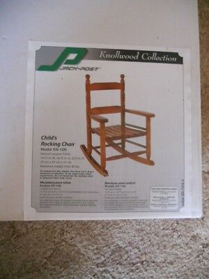 Knollwood Collection Jack Post Childs Rocking Rocker Chair KN-10N New NIB