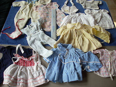 """Vintage Baby Doll Clothes - for a doll about 15""""-18"""""""