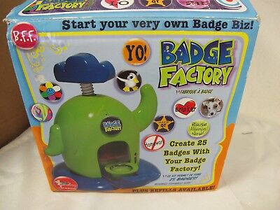 Badge Factory Make Your Own Pins Toy Set Bead Shop
