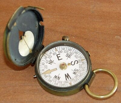 Vintage WW2 Era US ENGINEER CORP Compass US - Works perfectly!