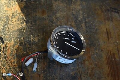 Used Smiths-type 10,000rpm Rev Counter with mini-loom