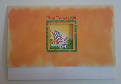 Folder natale 1996 golden 573. 574. 575 usate telecom