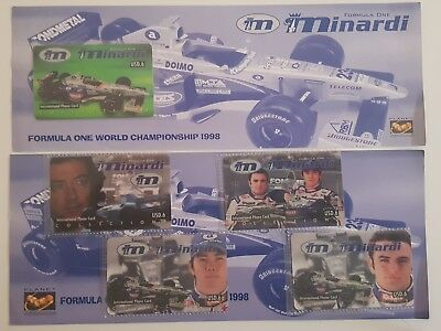 2 folder minardi planet communication rari 10000 pezzi