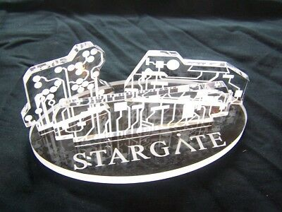 Stargate SG-1 Atlantis control crystals prop replicas with display stand