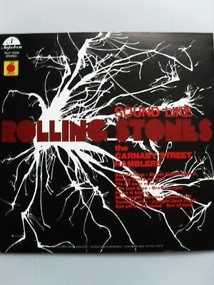 """LP 33 giri """"SOUND LIKE ROLLING STONES"""" by Carnaby St.Ramblers (covers)"""