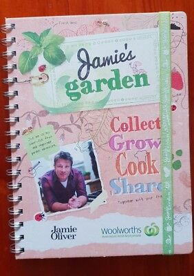 Woolworths Jamie's Garden Collector's Album Partially Used