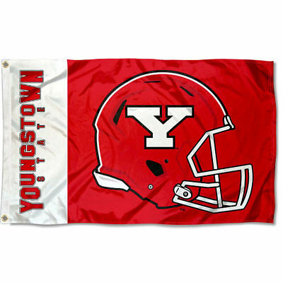 Youngstown State Penguins Football Helmet Flag Large 3x5