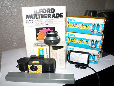 Job Lot Of Vintage Photographic Accessories.