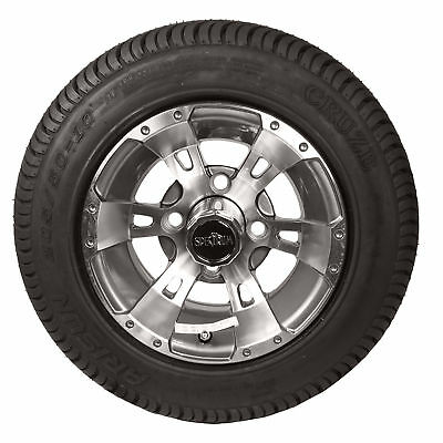 "10"" Dirty Harry Wheels with 205/50-10 LoPro Tires (Set of 4)"