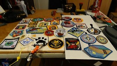 Lot Of 31 Cub,webolo Scout Patches (Lot Mam)