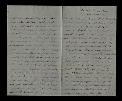 114th Illinois Infantry CIVIL WAR SOLDIER LETTER Written from Memphis, TN
