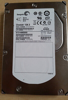 "LOT OF 10 Seagate Cheetah ST3146855SS 146GB 15K rpm SAS Hard Drive 3.5"" Generic"