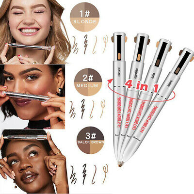 Brow Contour 4-In-1 Defining Highlighting Brow Pencil Eyeliner Eyebrow Enhance