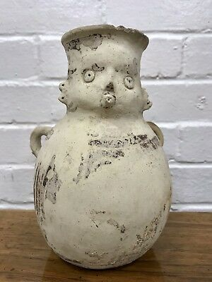 Ancient Nazca Figural Vessel Peru Inca Moche Nasca Precolumbian Artifact Pottery