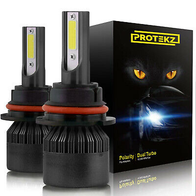 Protekz LED Headlight Kit Bulb 9005 6000K 1200W for 2013 - 2015 Toyota RAV4