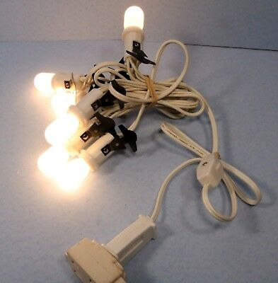 5 Light Multi-Cord Set for Lemax & Department 56 Holiday Village Buildings
