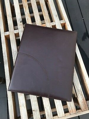 Chocolate Brown Leather Photo Album