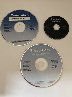 3 Blackberry Bold Curve software CD-rom Lot Of Disc's