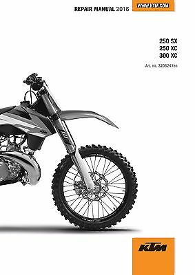 ktm service workshop repair manual book 2017 250 duke $35 00ktm service  workshop shop repair manual