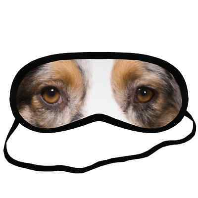 Blue Merle AUSTRALIAN SHEPHERD EYES SLEEP MASK S Size Gift for Girl Dog Lover