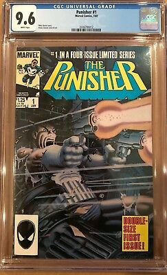 The Punisher #1 CGC 9.6 1st Punisher in its own title!KEY ISSUE!L@@K!