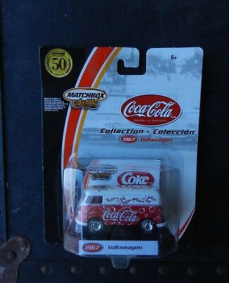 "Matchbox White/red 1967 Volkswagen Delivery Van ""coca Cola"" Have A Coke & Smile"