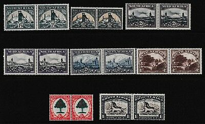 Pre Decimal,Africa,South Africa,Pairs to 1/-,Various Printing,MH,#1843