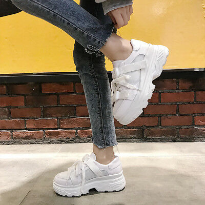 bfdc9be1458b Women s Girls Athletic Sneakers Sport Running Casual Walking Platform Shoes  2019