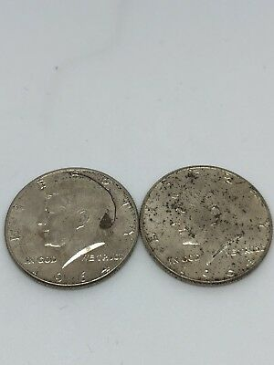 $1 Face Value 90% Silver U.S. Coin Lot - Two Half Dollars Junk Silver (0232)