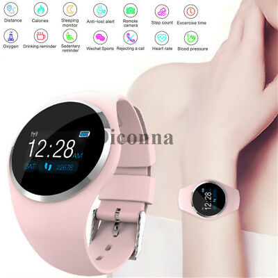 Women Lady Bluetooth Smart Watch Phone Mate For Samsung Android IOS iPhone LG UK