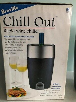 Breville Chill Out Rapid Wine Cooler (WC10)