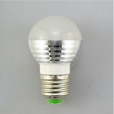 Functional RGB LED Night light E27 110V-220V LED IR Remote Lamp Spotlight Bulb