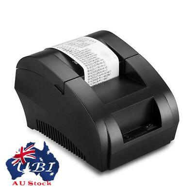 USB Mini 58mm ESC/POS Thermal Dot Receipt Bill Printer + Roll Thermal Paper Set