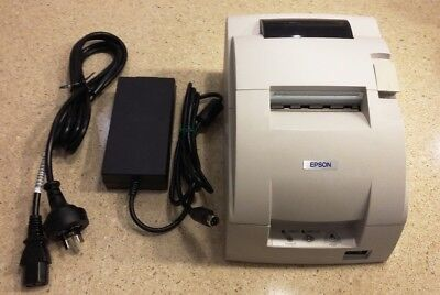 Epson TM-U220D  Dot Matrix (kitchen)  Receipt Printer  W/PSU (Serial Interface)