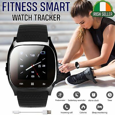 Smart Watch Bracelet Wristband Fitness Activity Tracker Monitor For iOS Android