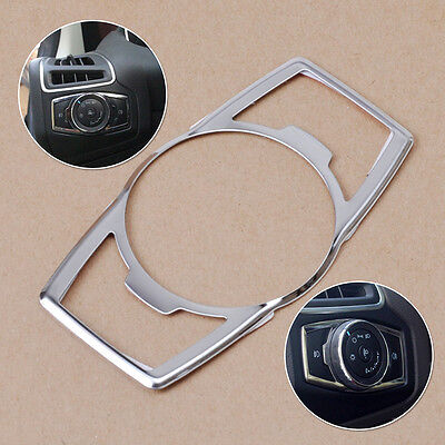For Ford Escape Kuga 2013 14 Fog Head Light Switch Button Chrome Cover Trim