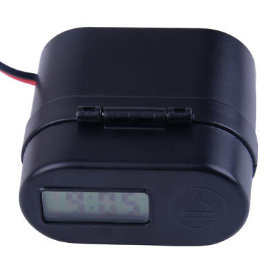 ABS Motorcycle Handlebar Cigarette Lighter Dual USB Charger Switch LED Voltmeter