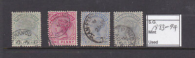 Trinidad 1883-94 Selection of Queen Victoria used Stamps