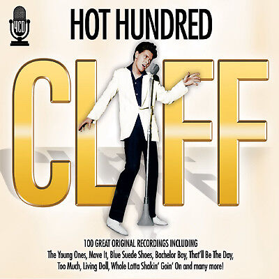 Cliff Richard - 4 CD SET - BRAND NEW SEALED - Hot 100 GREATEST HITS BEST OF