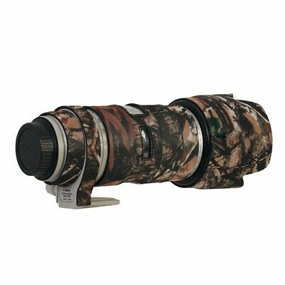 Camouflage Woodland Canon 70-200mm F2.8 Neoprene Camera Lens Protection Cover UK