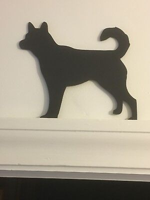Husky Akita Wolf Door Topper Cute Dog Stand Christmas Present Picture Top