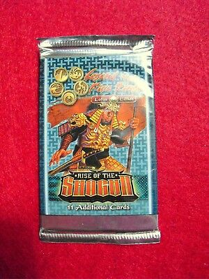 Legend of the Five Rings - OVP Booster - SHOGUN - 11 neue Karten - Lotus Edition