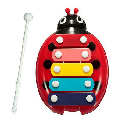 5-Note Xylophone Musical For Baby Child Girl Boy Toy Development Toys Beetle UK