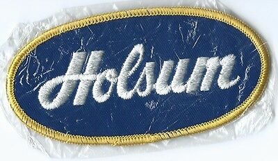 Holsum bread driver/employee patch 2-1/4X4-3/8