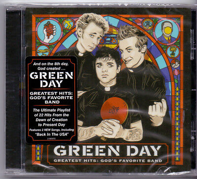 Green Day ‎– Greatest Hits: God's Favorite Band (CD Album)